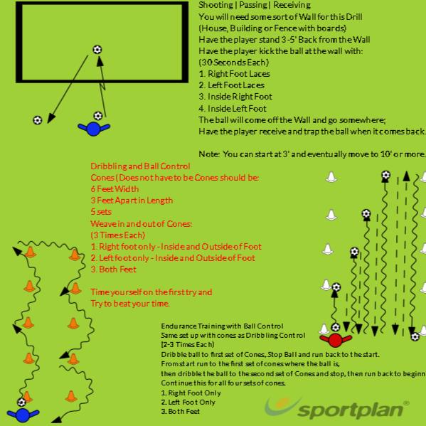 U09-12 and U13-16 - At Home DrillsTrain At HomeFootball Drills Coaching