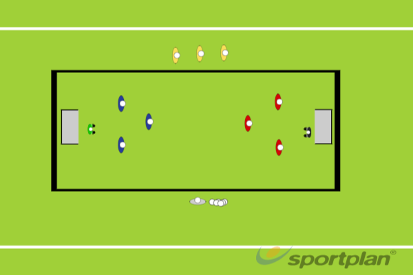 Small Sided Game Man to ManConditioned GamesHockey Drills Coaching