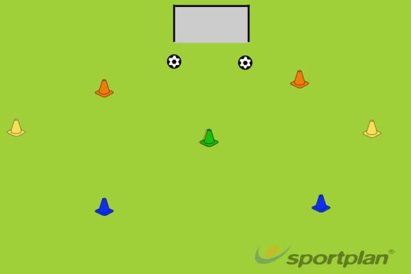 Xmas TreesFootball Drills Coaching