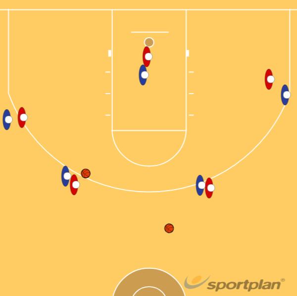 5v5 half courtBasketball Drills Coaching