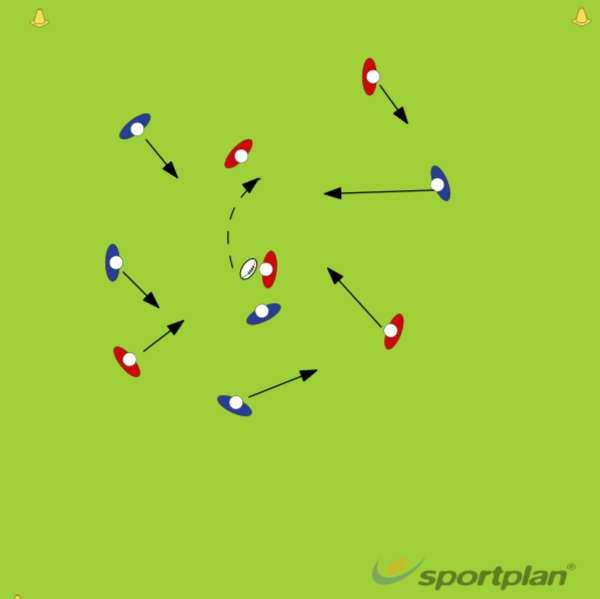 5 PASS GAMEAgility & Running SkillsRugby Drills Coaching