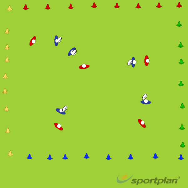 CONE ZONEContact SkillsRugby Drills Coaching