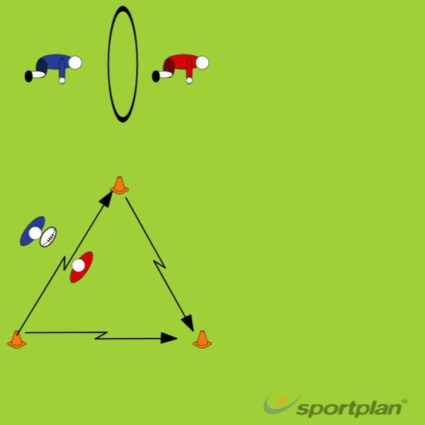 Tracking 1Rugby Drills Coaching