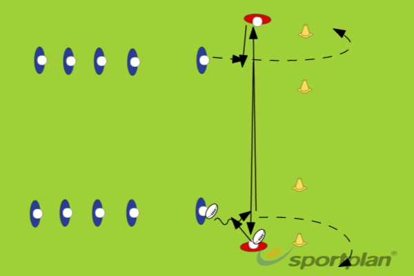 Long Passing AccuracyRugby Drills Coaching