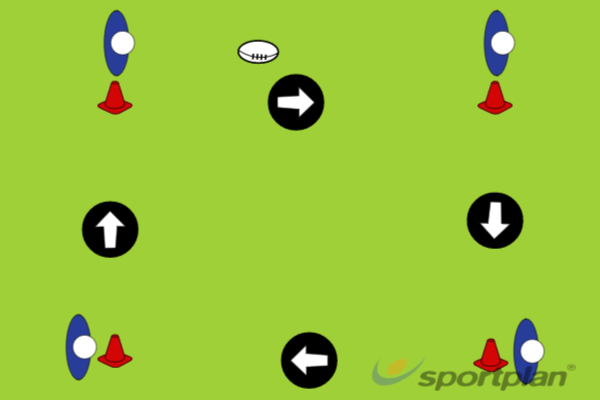 Static Catch and PassTag RugbyRugby Drills Coaching