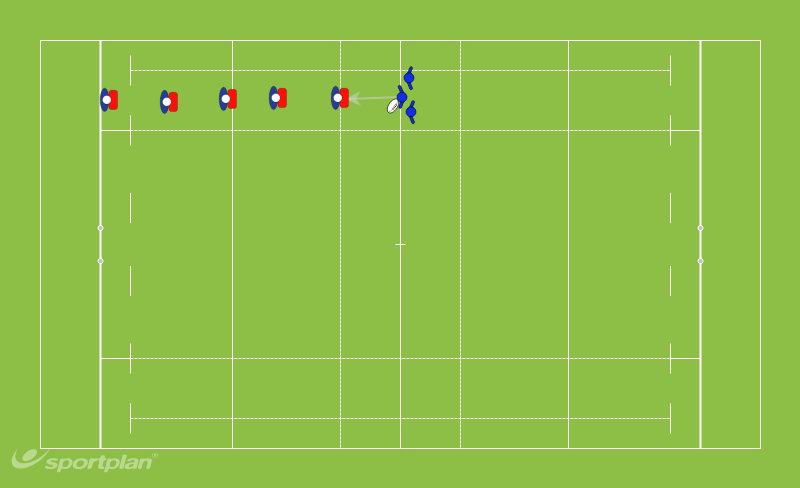 OffloadingRugby Drills Coaching