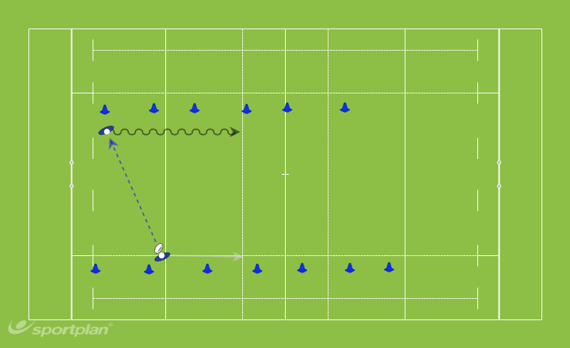 Long PassingRugby Drills Coaching