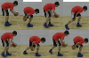 : 1 Leg  Both Legs - Advanced Ball Handling