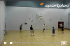 : 1 on 1 continuous - rear view - Dribbling Relay