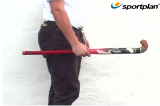 Hold the stick in one handVideo TechniquesHockey Drills Coaching