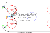 figure of 8 continues shooting drillSamplesIce Hockey Drills Coaching