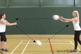 Bounce Pass Netball Drill Netball Drills, Videos and ...