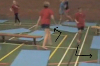 : Jogging with changes of direction around and between mats - Key 2 Body Temperature Raising