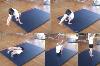: forward roll along mat - Key 3 Forward roll