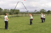 Catching the high ball relay Rounders