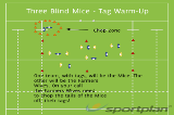 Three Blind Mice - Tag Warm-UpzWarm UpRugby Drills Coaching