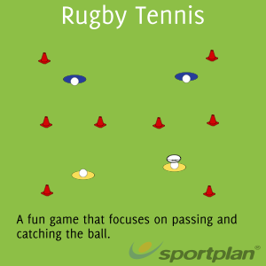 Rugby Drill Demonstration